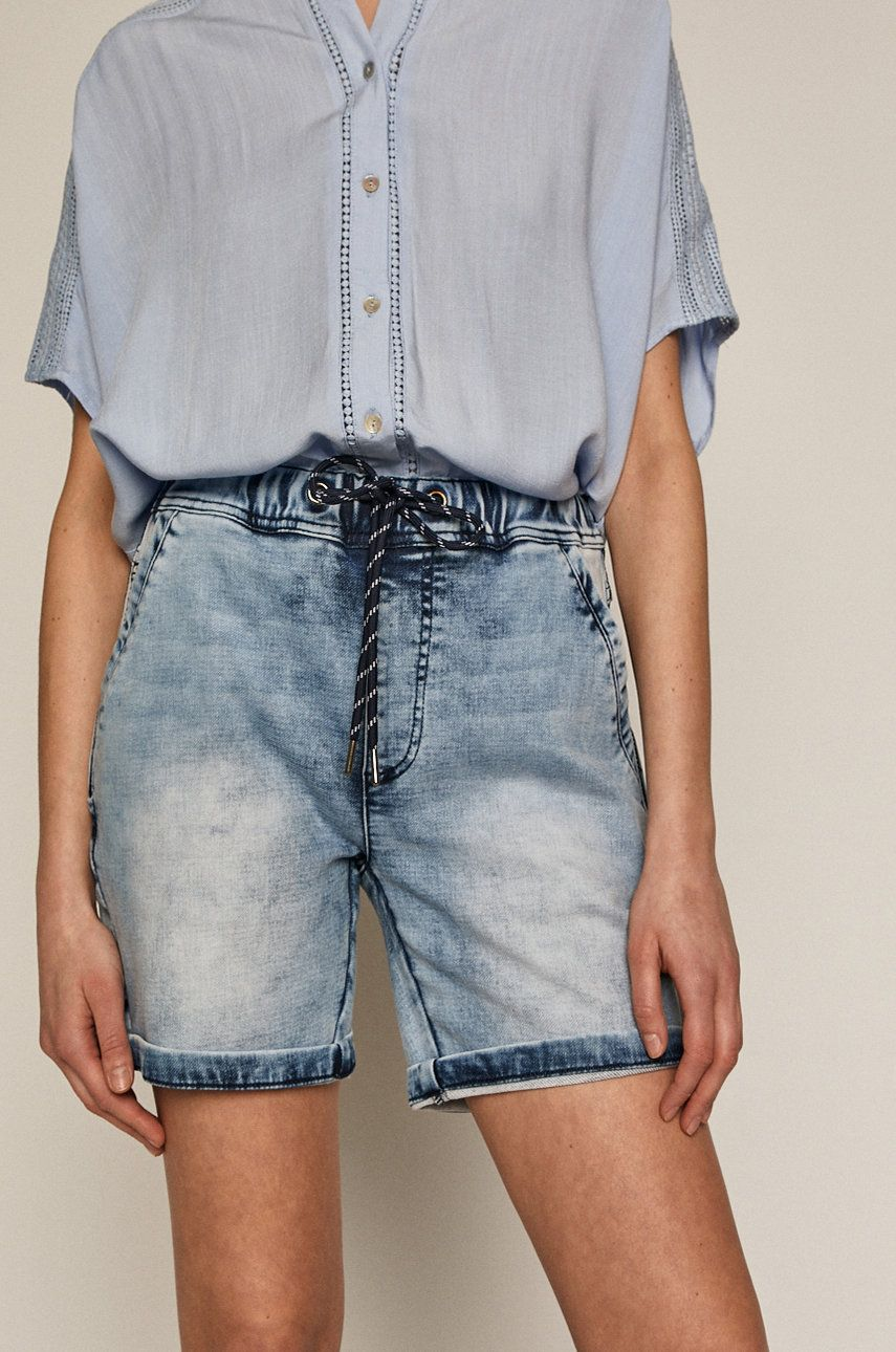 Medicine - Pantaloni scurti jeans Denim imagine answear.ro 2021