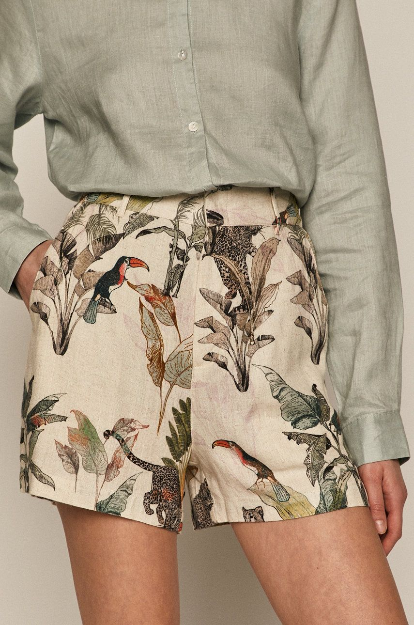 Medicine - Pantaloni scurti Summer Linen answear.ro