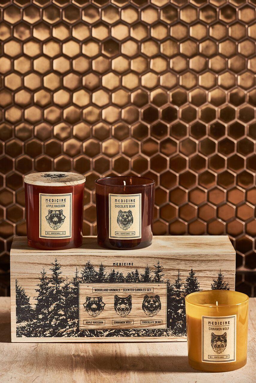 Medicine - Lumanari parfumate Gifts (3-pack) imagine