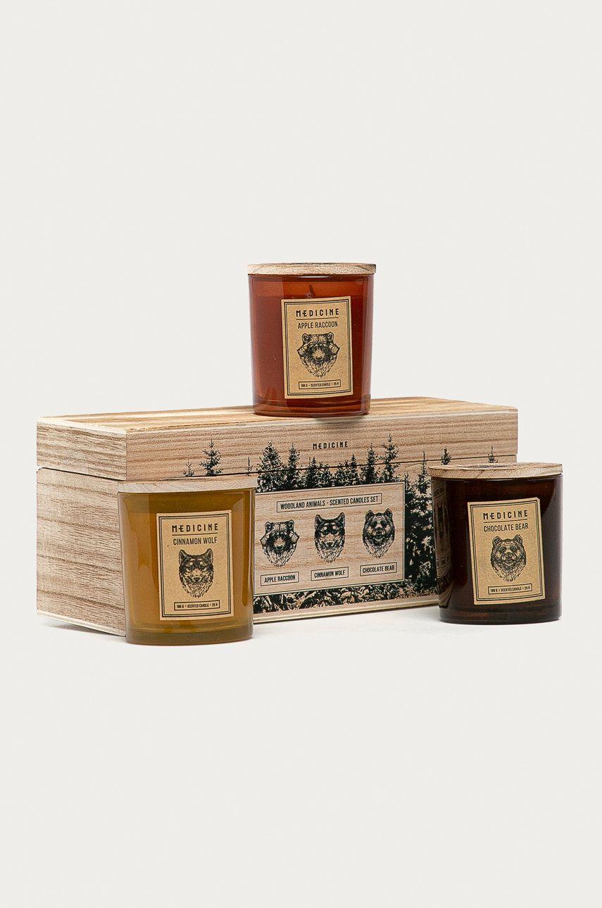 Medicine - Lumanari parfumate Gifts (3-pack) poza