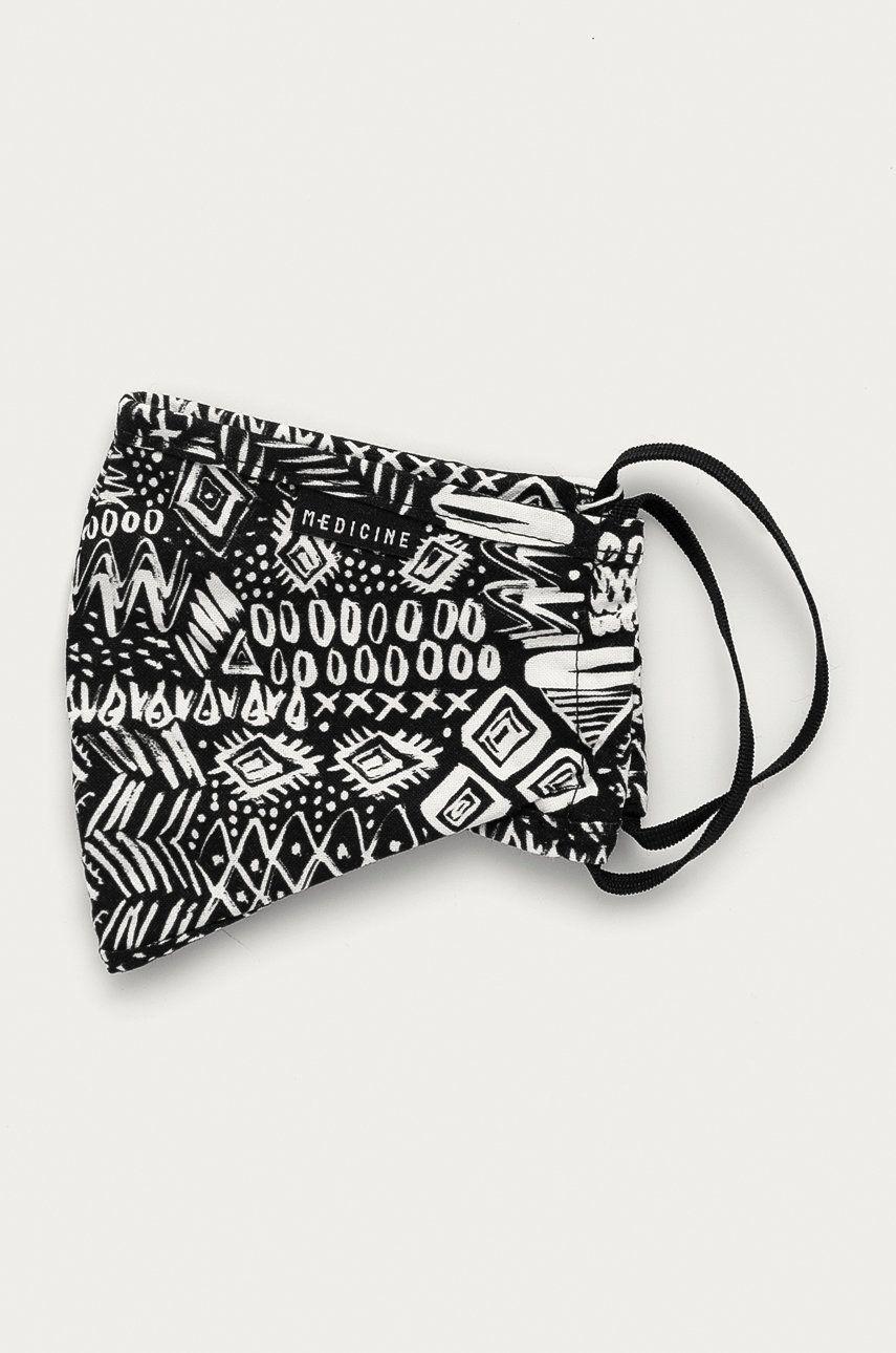 Medicine - Masca de protectie reutilizabila Basic imagine answear.ro