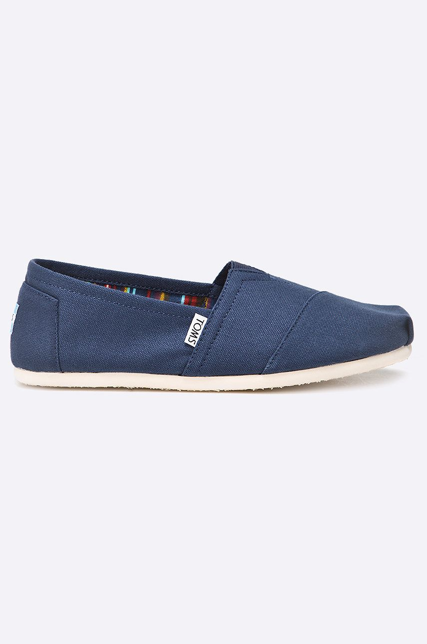 Toms - Espadrile Canvas Mens Classic Alpargata imagine