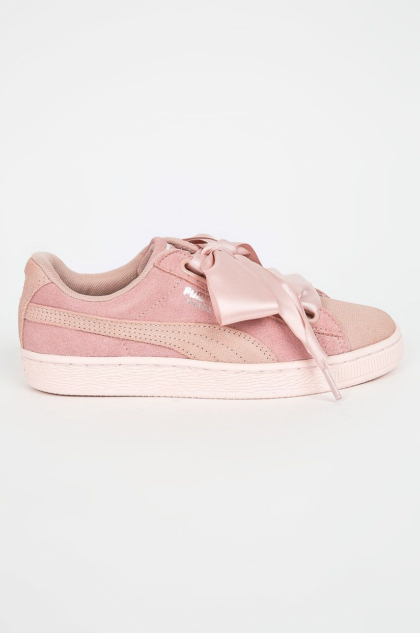 Puma – Pantofi Suede Heart Pebble Wn