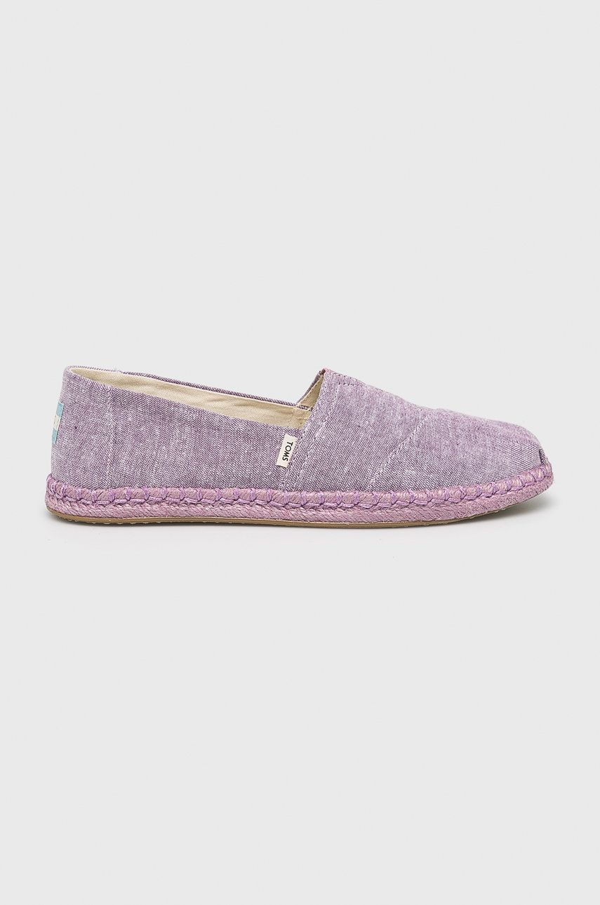 Toms - Espadrile Chambray On Rope