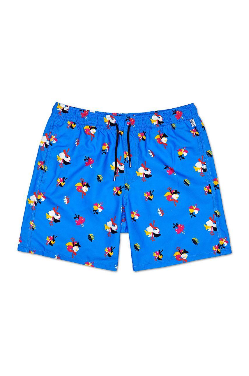 Happy Socks - Pantaloni scurti de baie Hibiscus