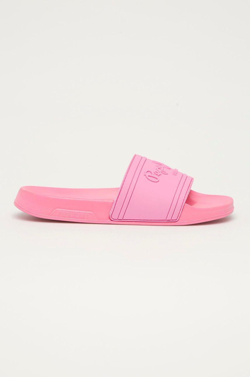 Pepe Jeans - Papuci Slider Unisex