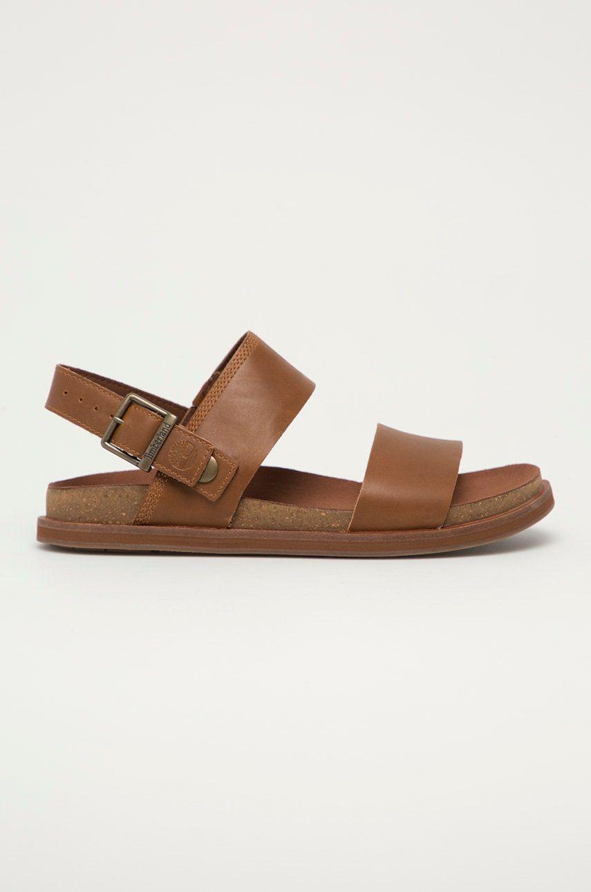Timberland - Sandale de piele Amlfi Vibes imagine answear.ro 2021
