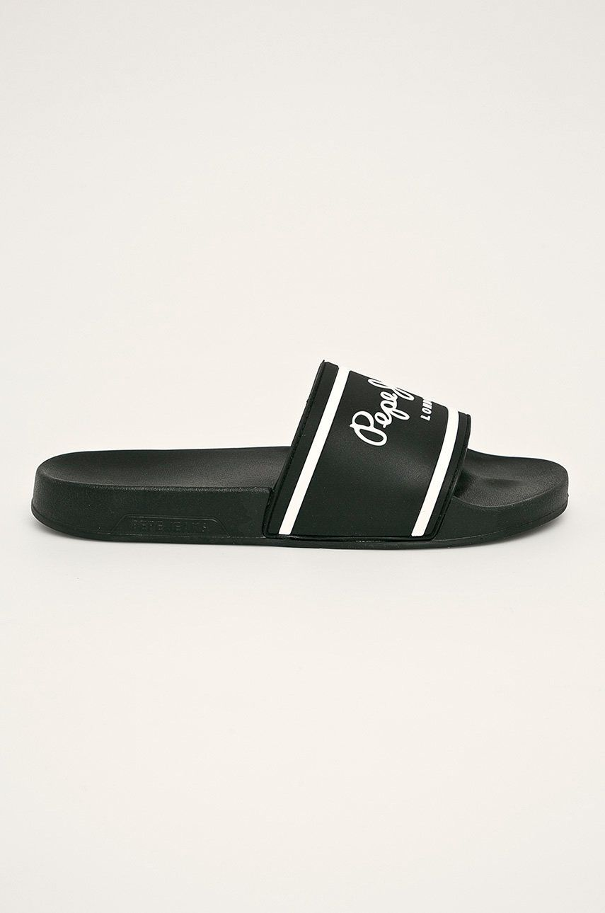Pepe Jeans - Papuci Slider Basic poza answear