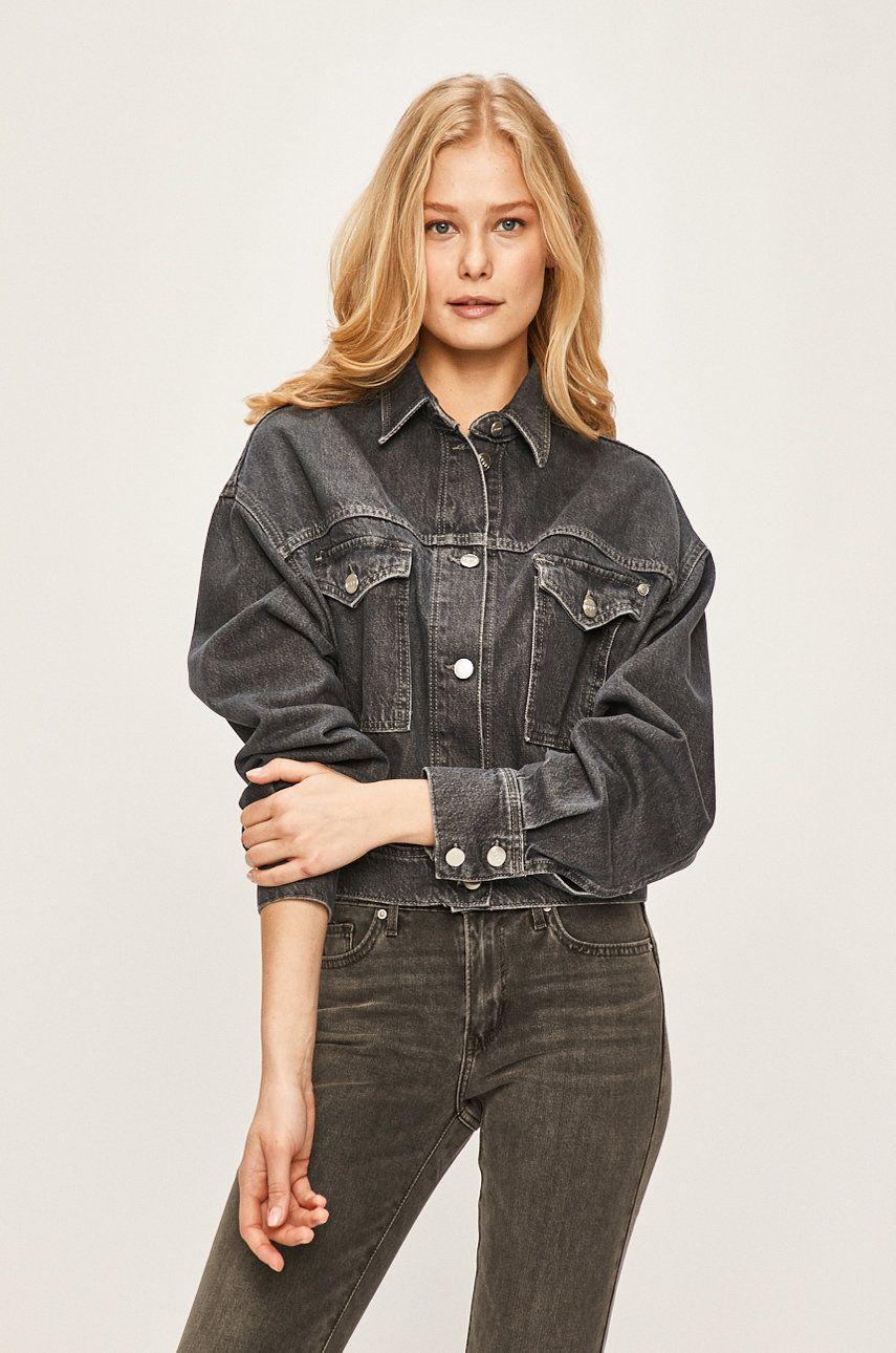 Pepe Jeans - Geaca jeans Sue