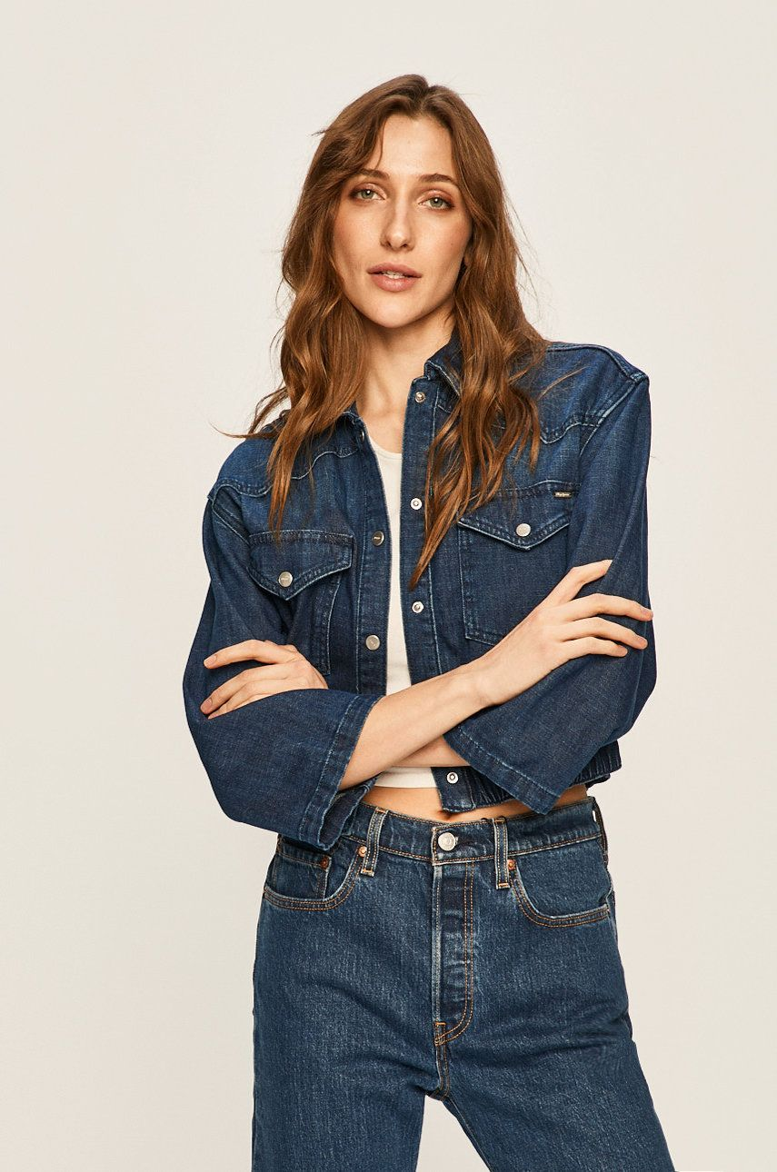Pepe Jeans - Geaca jeans Archive Carli imagine