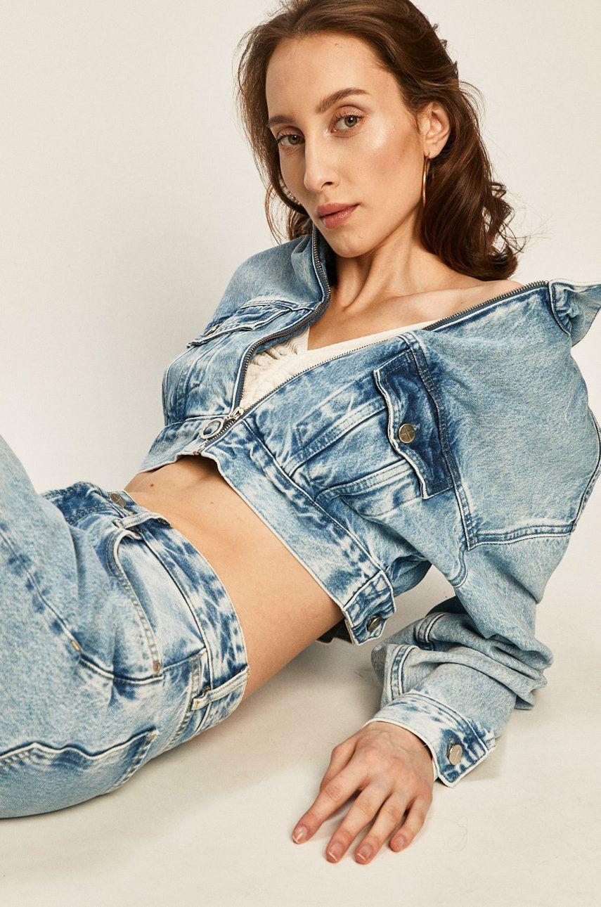 Pepe Jeans - Geaca jeans Rogue x Dua Lipa