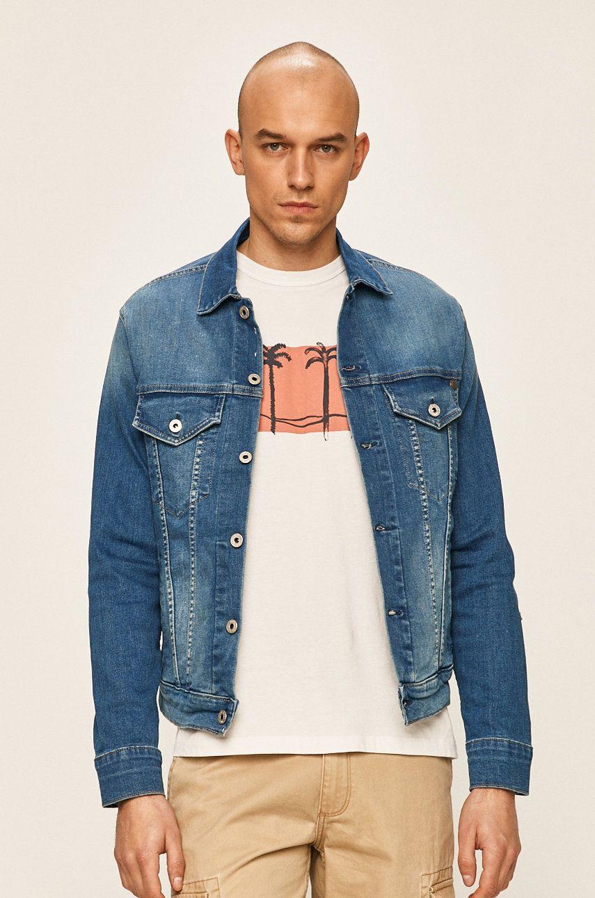 Pepe Jeans - Geaca jeans Pinner imagine 2020