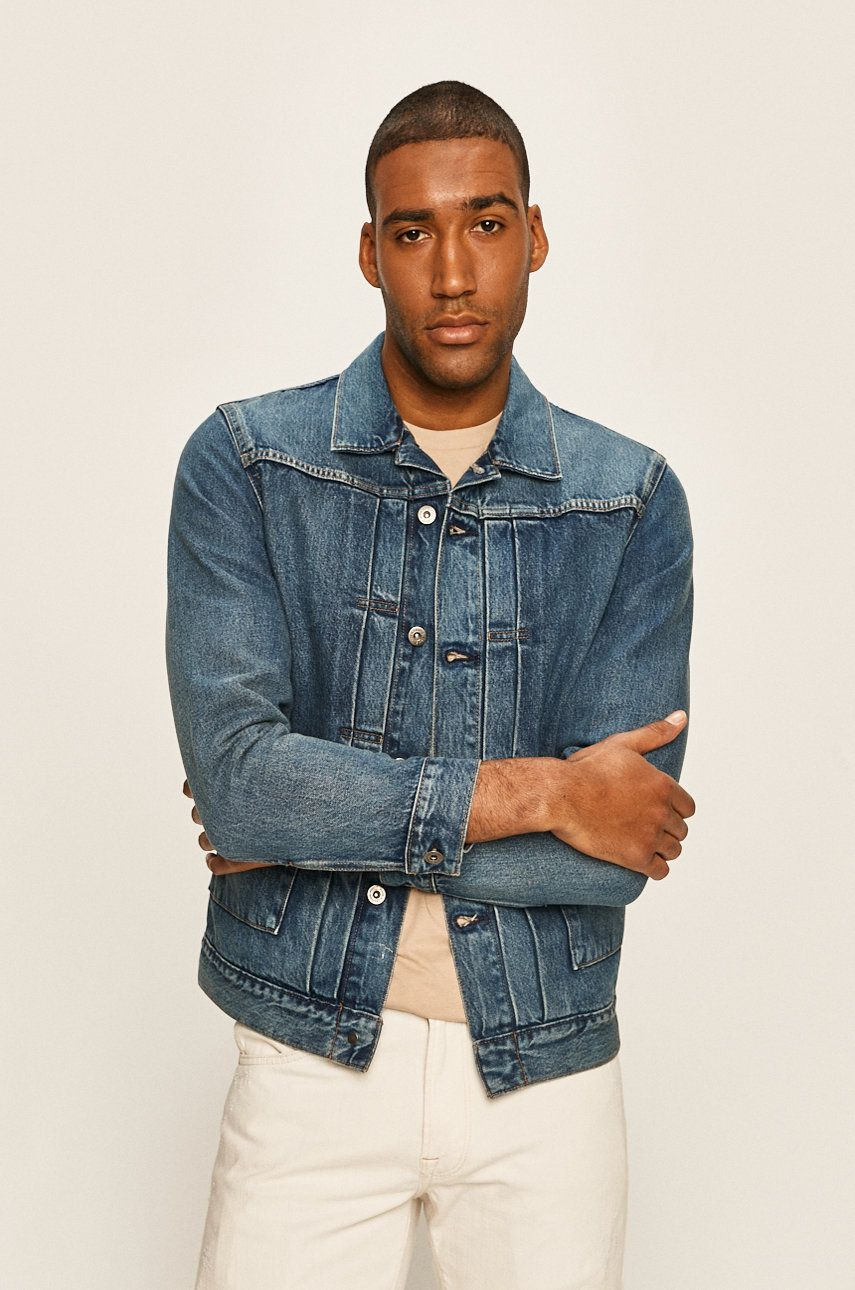 Levi's Made & Crafted - Geaca jeans imagine