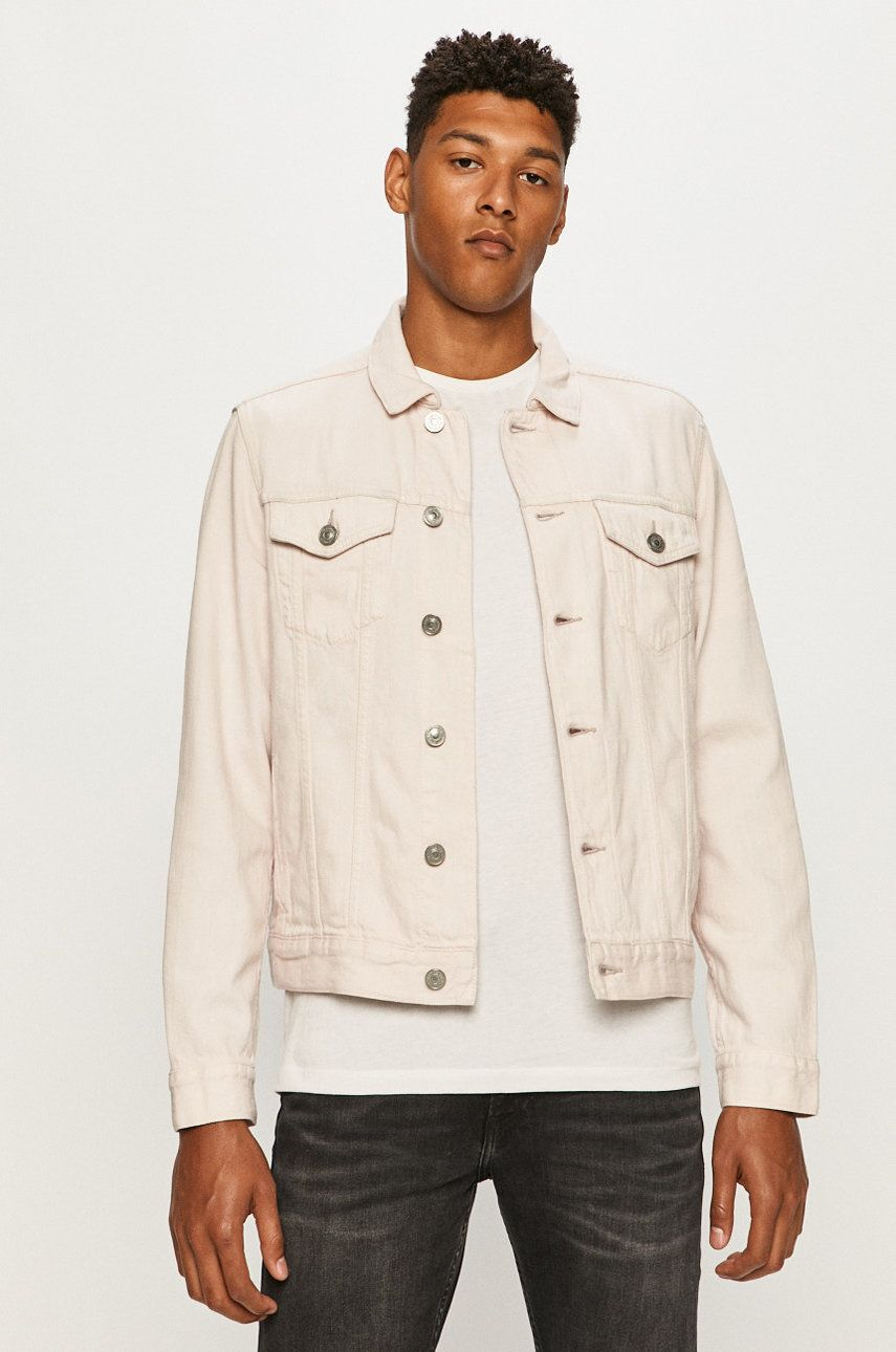 AllSaints - Geaca jeans Jalna