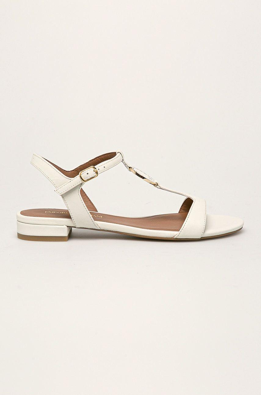 Emporio Armani - Sandale de piele