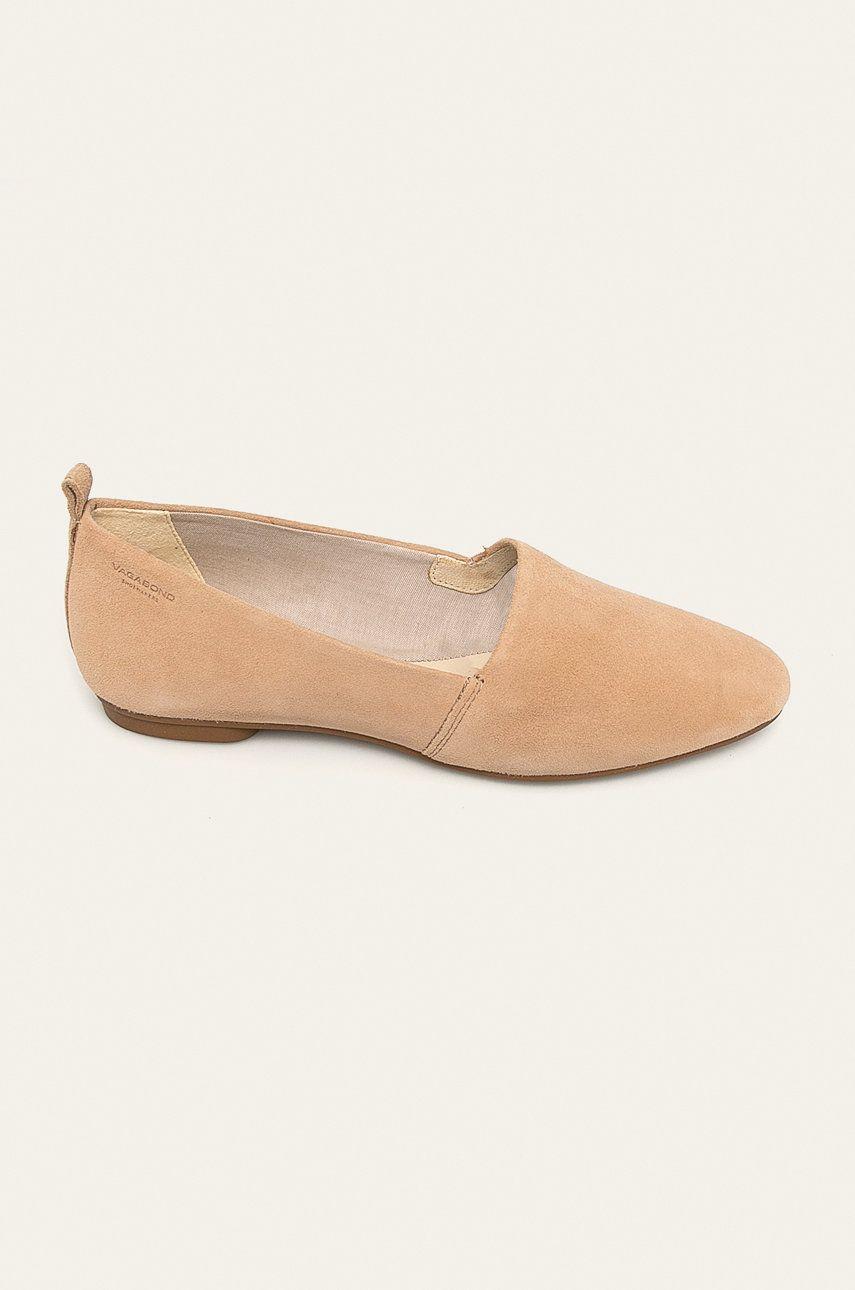 Vagabond - Pantofi de piele Sandy imagine answear.ro 2021