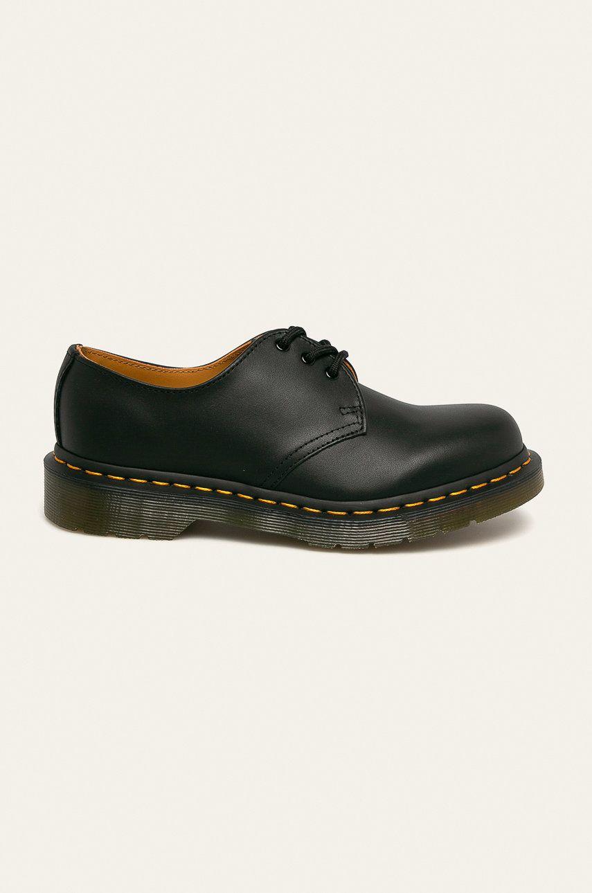 Dr. Martens - Pantofi de piele 1461 Black Nappa