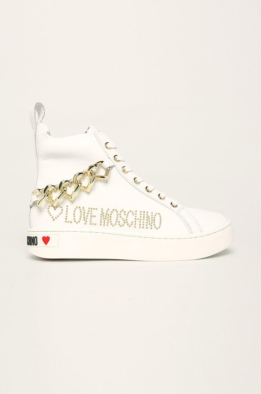 Love Moschino - Tenisi de piele