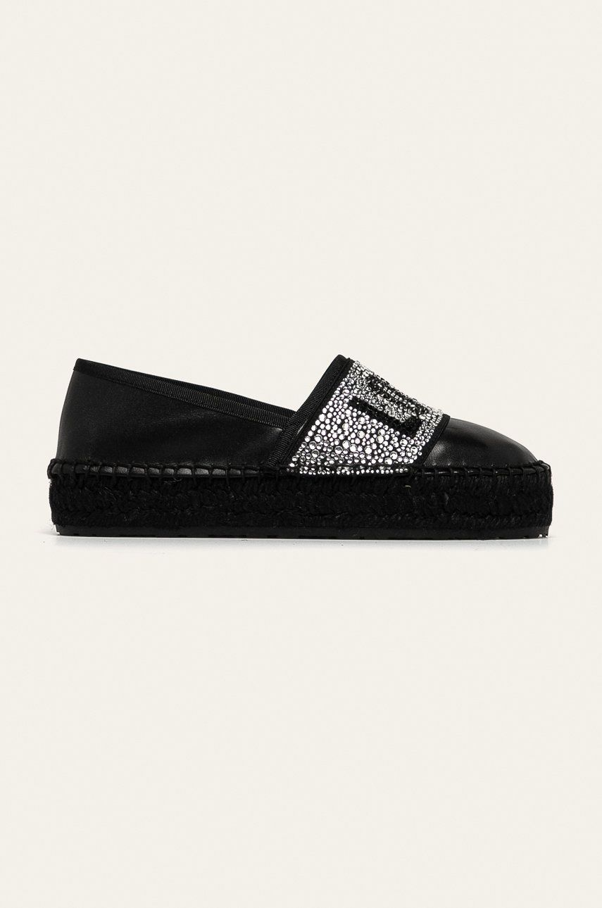Love Moschino - Espadrile de piele imagine