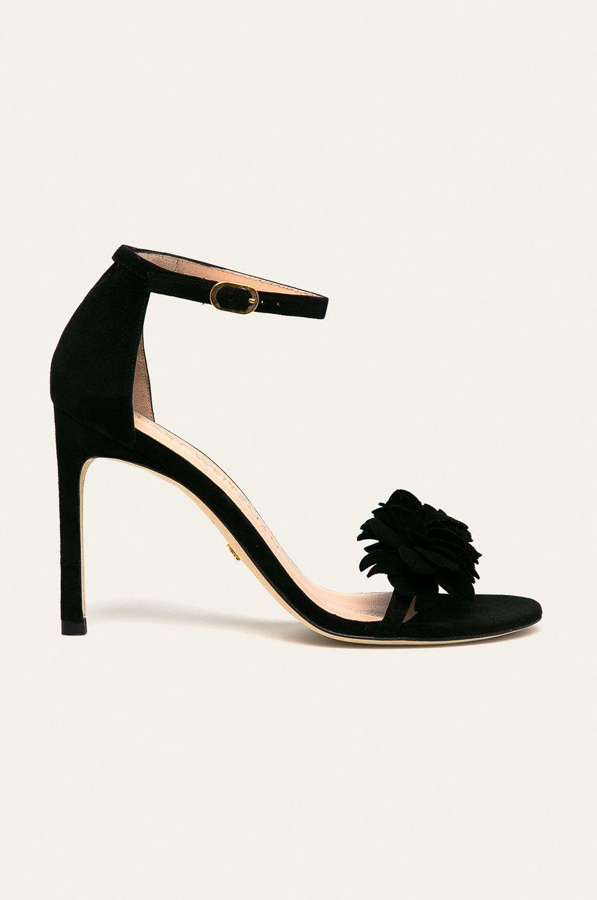 Stuart Weitzman - Sandale de piele Nudistsong Flower imagine