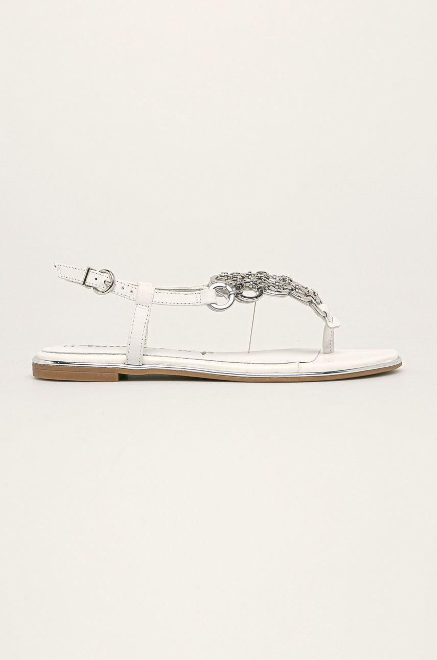 Tamaris - Sandale de piele poza answear