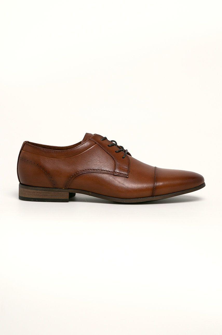 Aldo - Pantofi de piele Palmers imagine