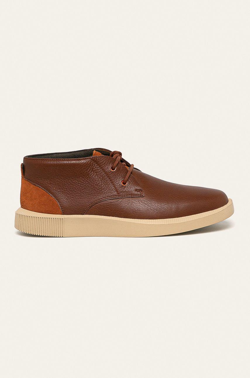 Camper - Pantofi de piele Bill imagine