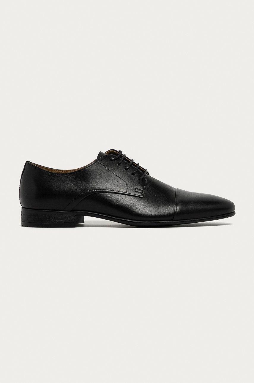Aldo - Pantofi de piele Ancede imagine answear.ro