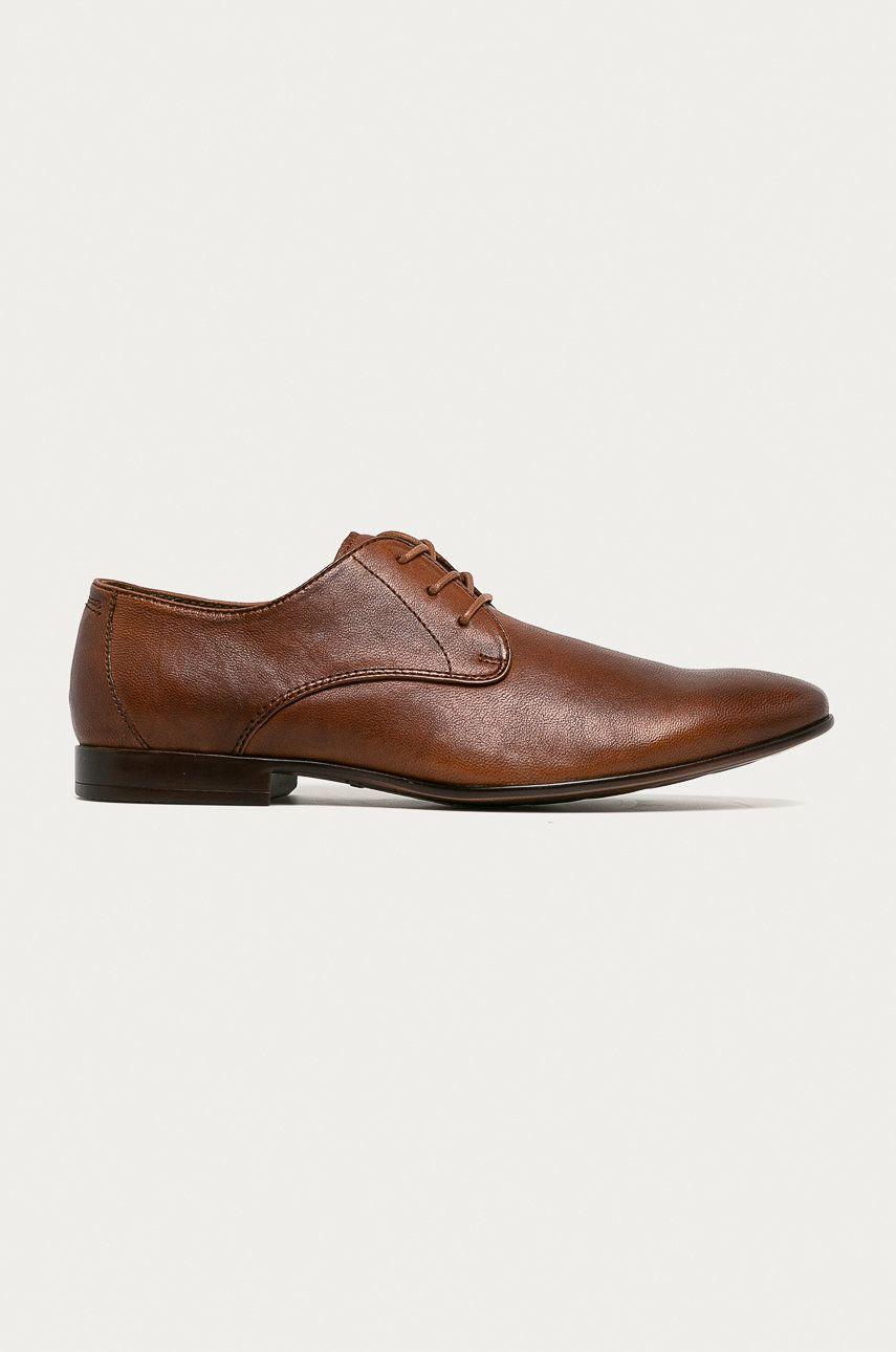 Aldo - Pantofi de piele Guaran imagine answear.ro