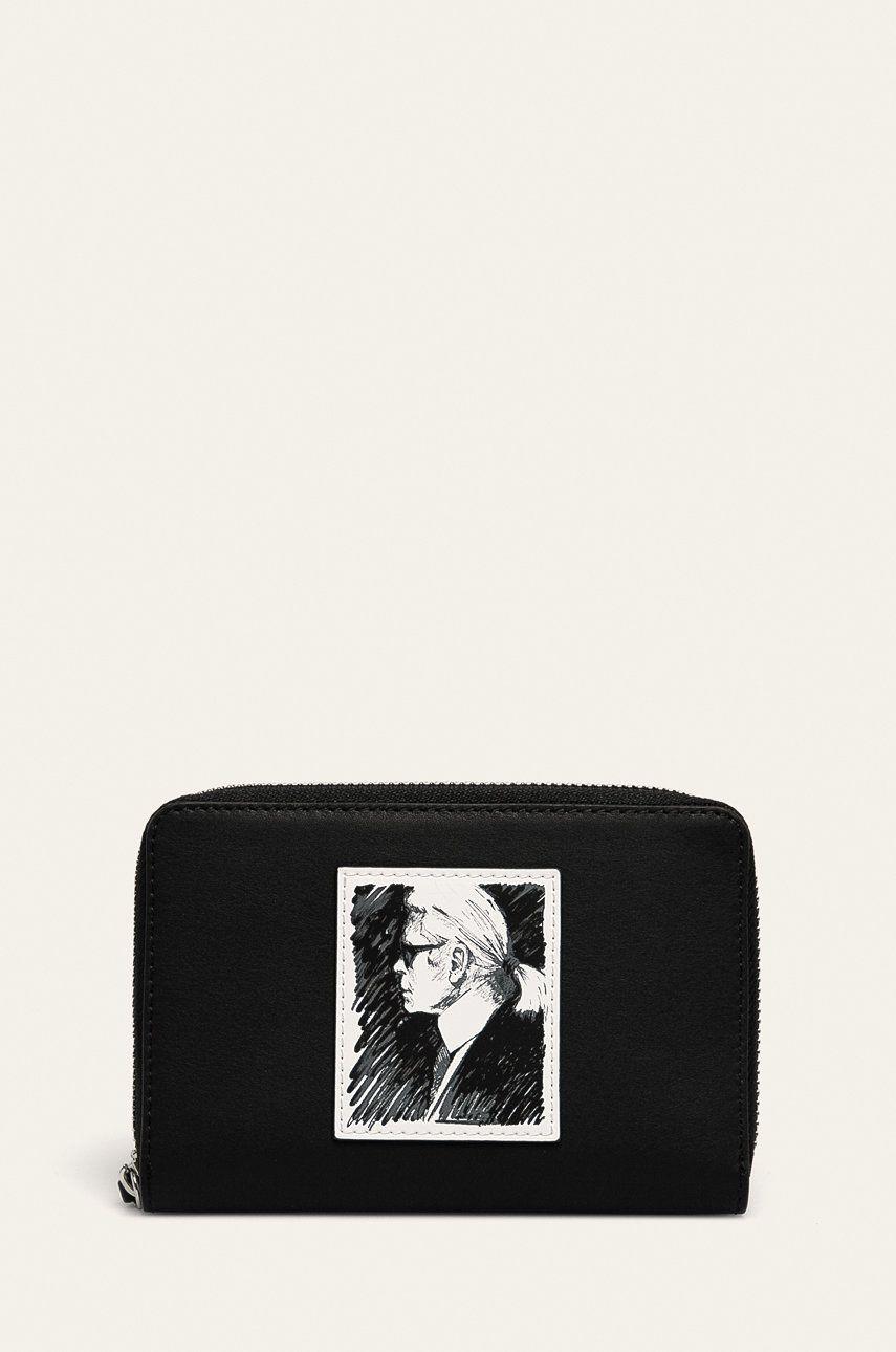 Karl Lagerfeld - Portofel de piele