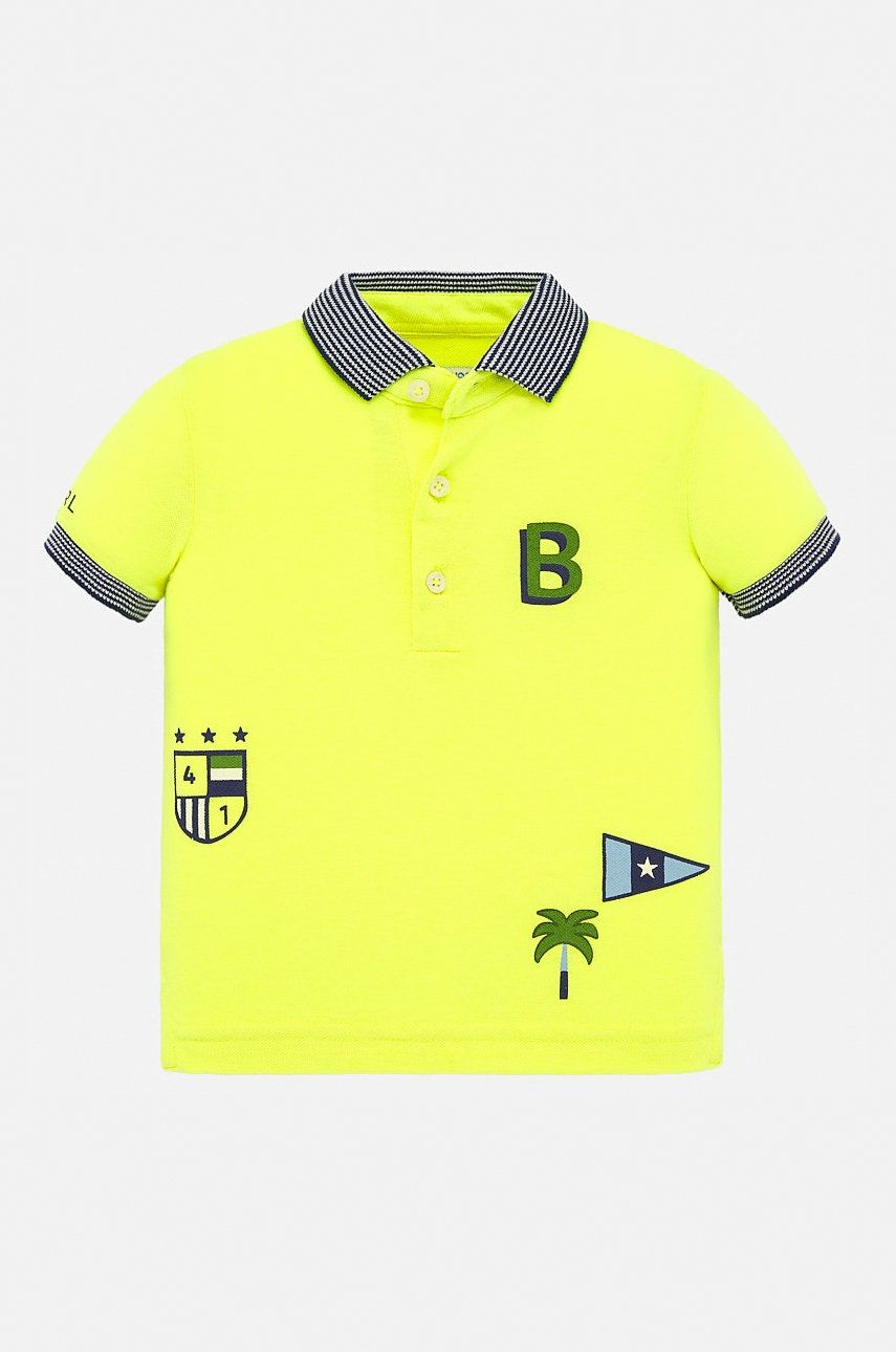 Mayoral - Tricou polo copii 68-98 cm imagine