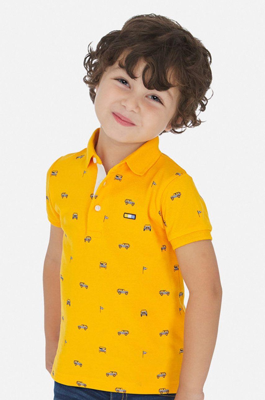 Mayoral - Tricou polo copii 92-134 cm imagine