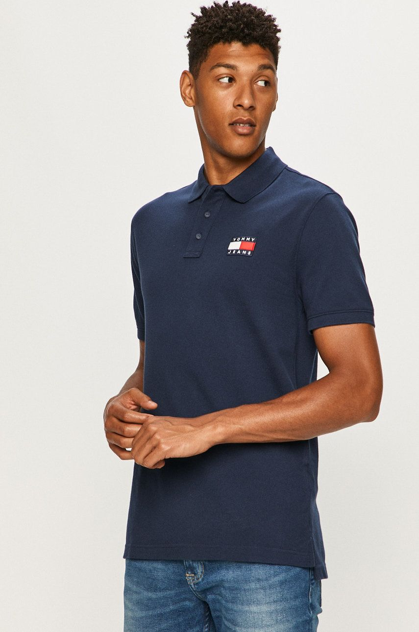 Tommy Jeans - Tricou Polo imagine 2020