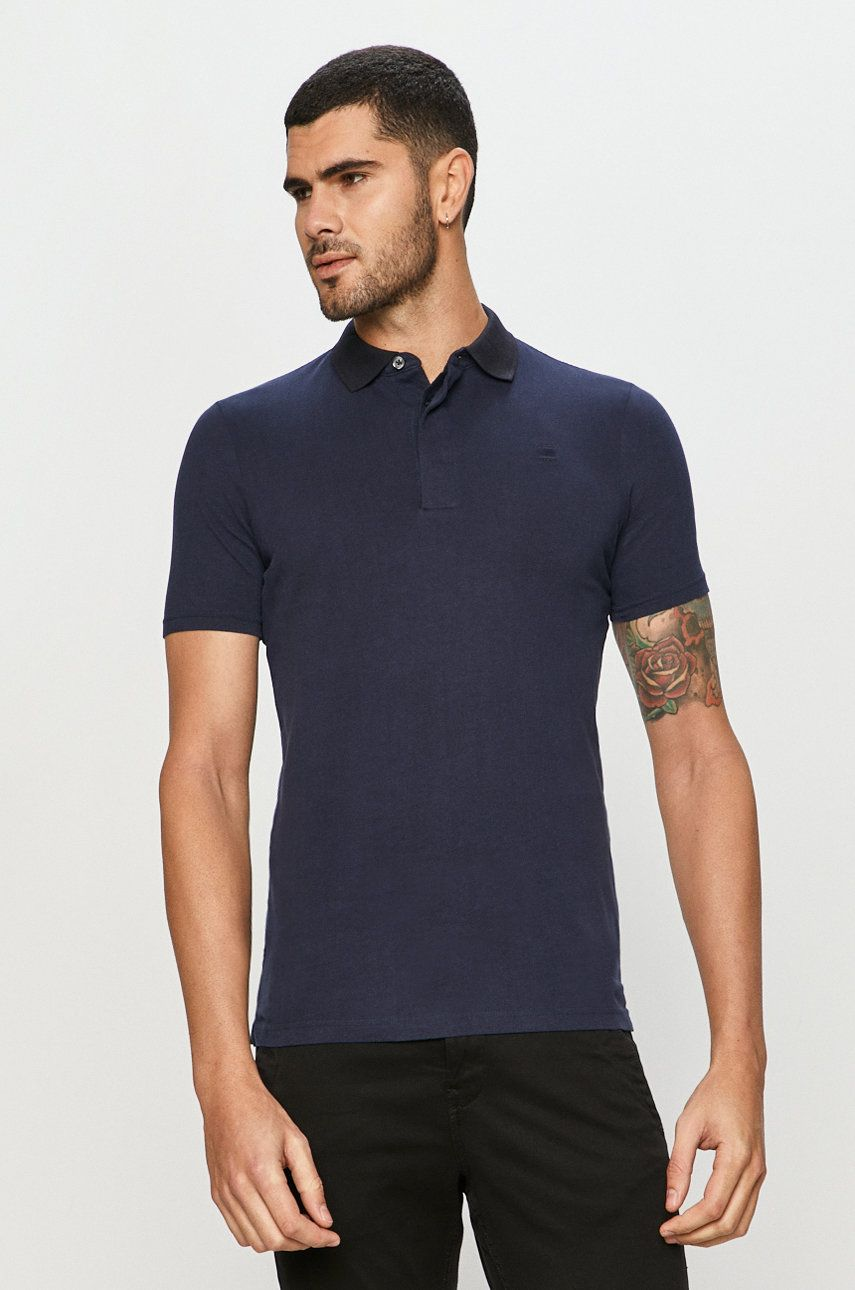 G-Star Raw - Tricou Polo imagine 2020