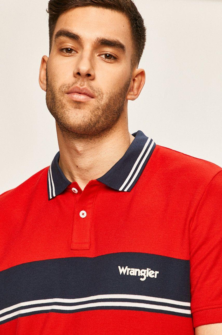 Wrangler - Tricou Polo imagine 2020