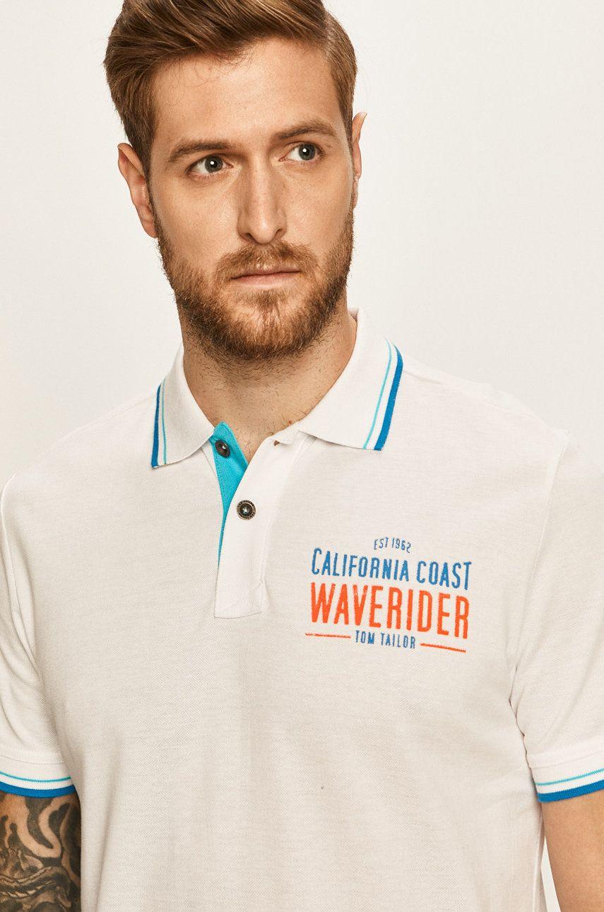Tom Tailor Denim - Tricou Polo imagine 2020