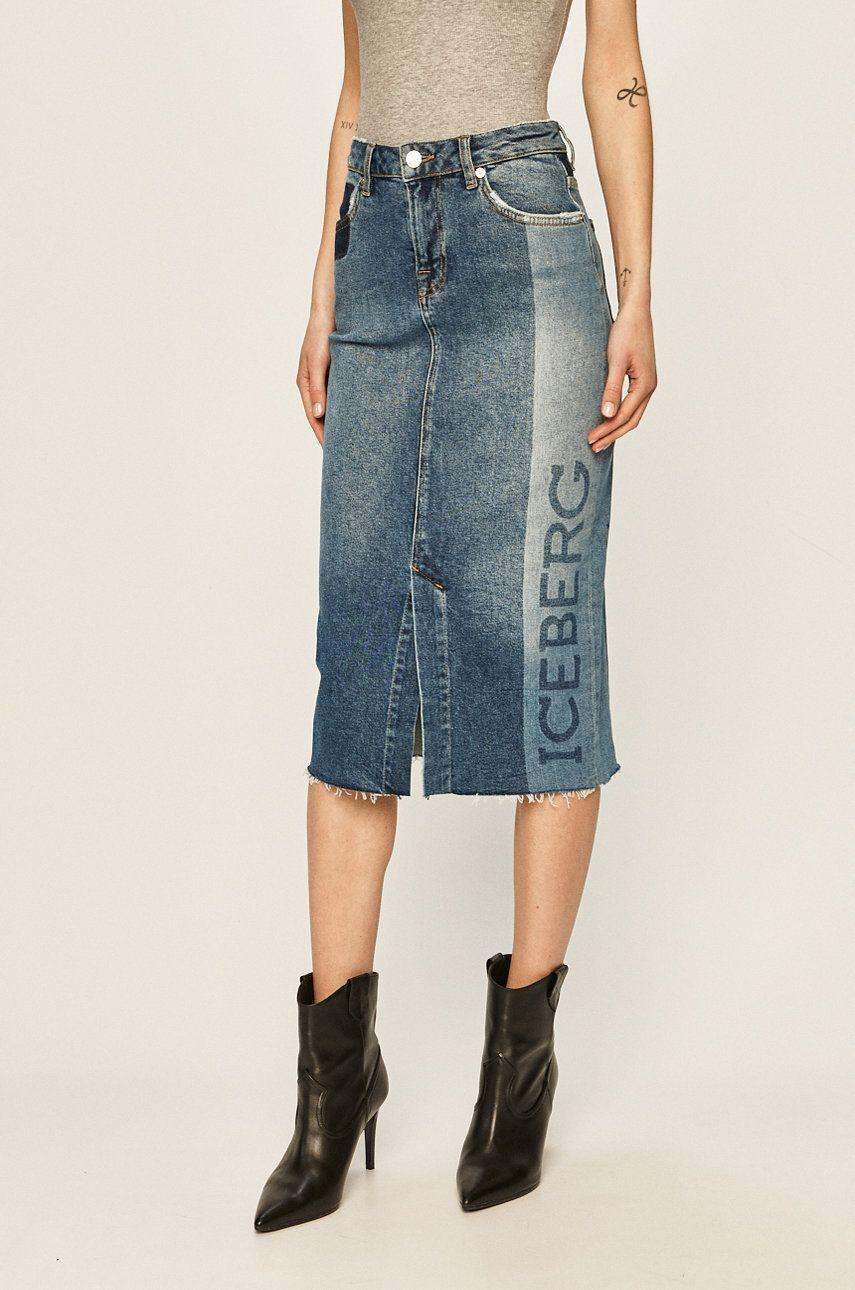 Iceberg - Fusta jeans
