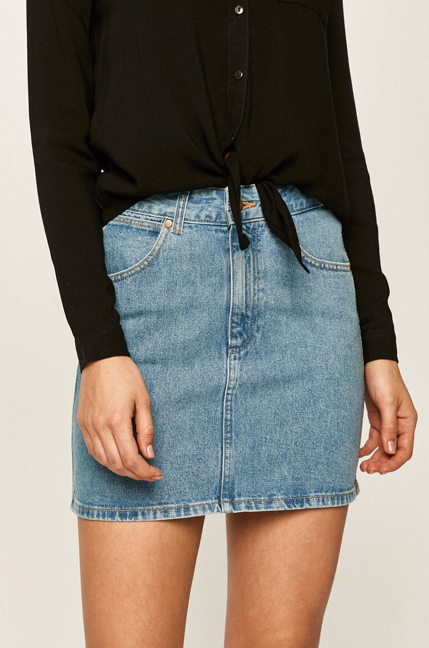 Wrangler - Fusta jeans imagine