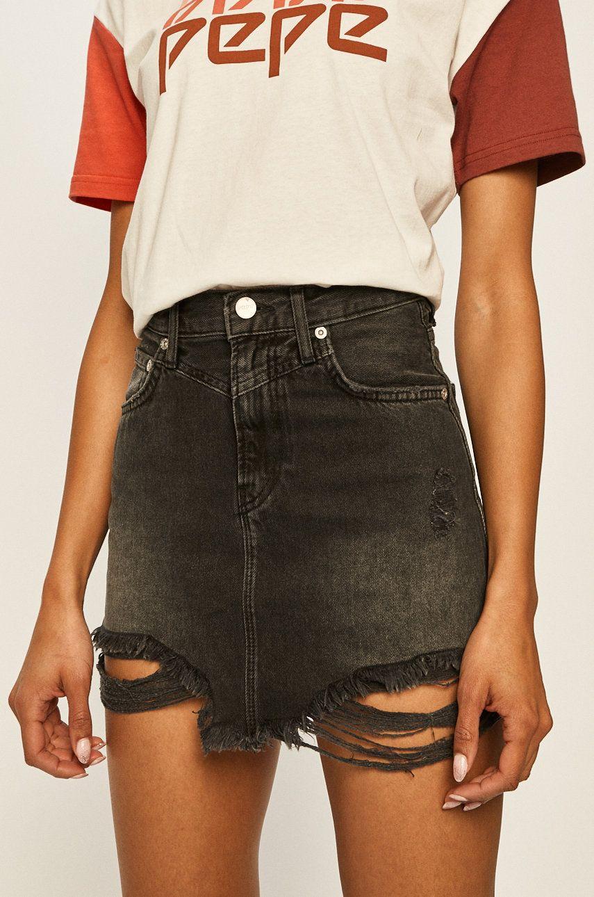 Pepe Jeans - Fusta jeans Rachel Archive