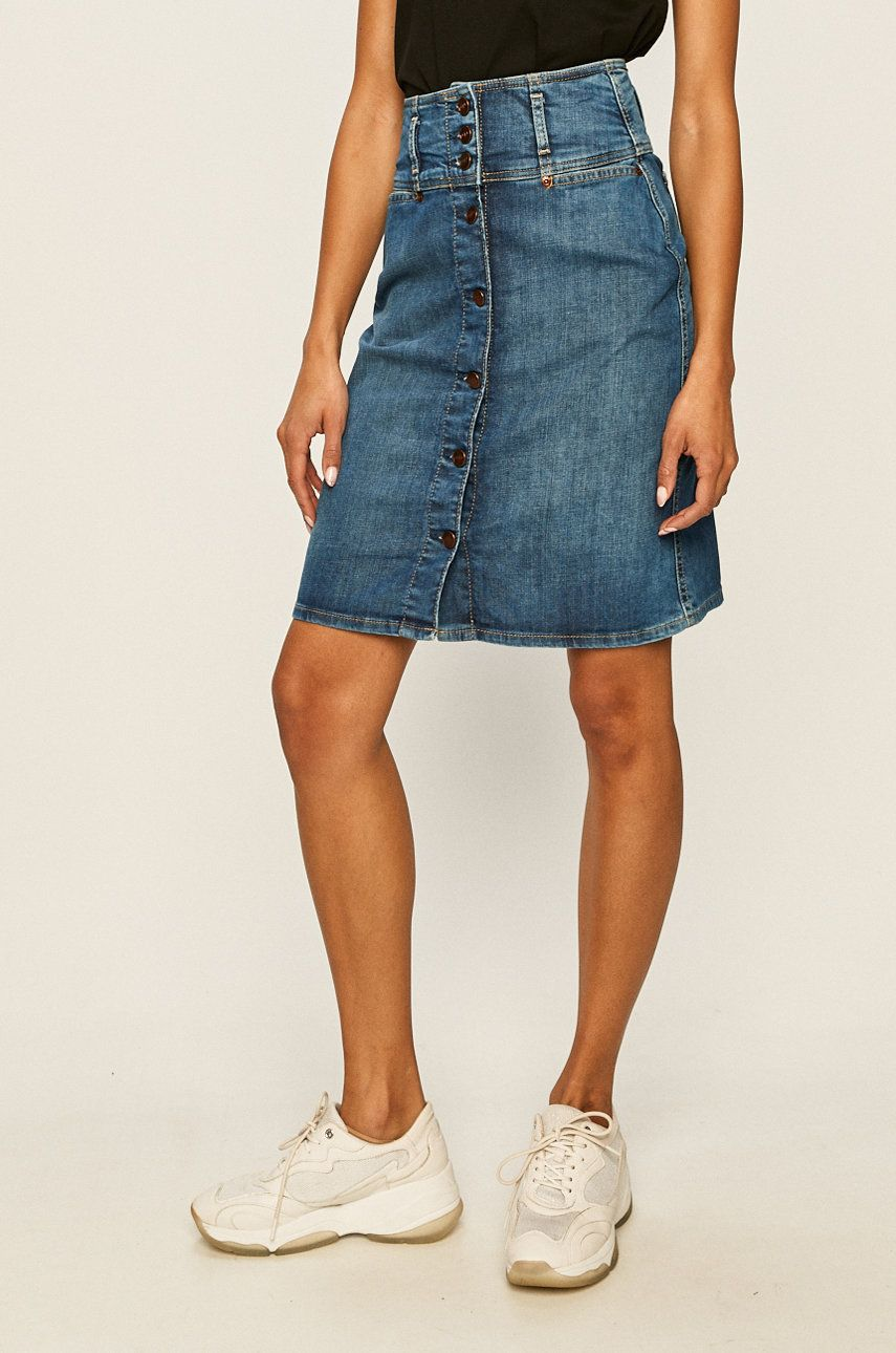 Pepe Jeans - Fusta jeans Evelyn