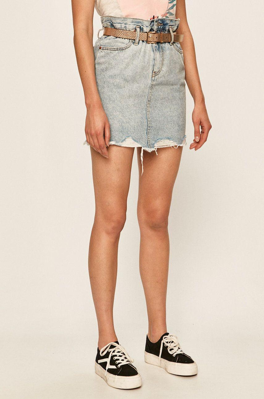 Tally Weijl - Fusta jeans answear.ro