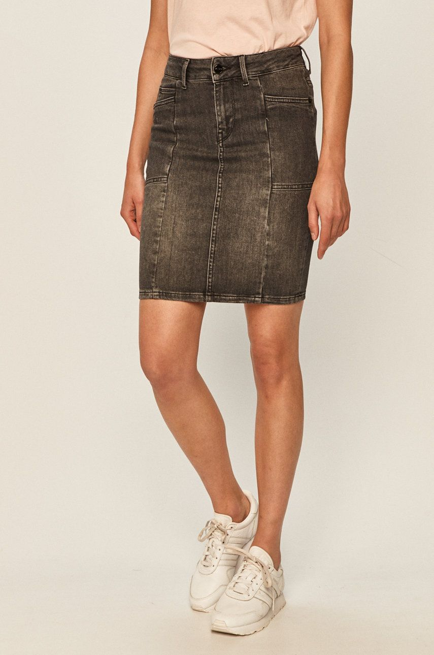 Pepe Jeans - Fusta jeans Taylor