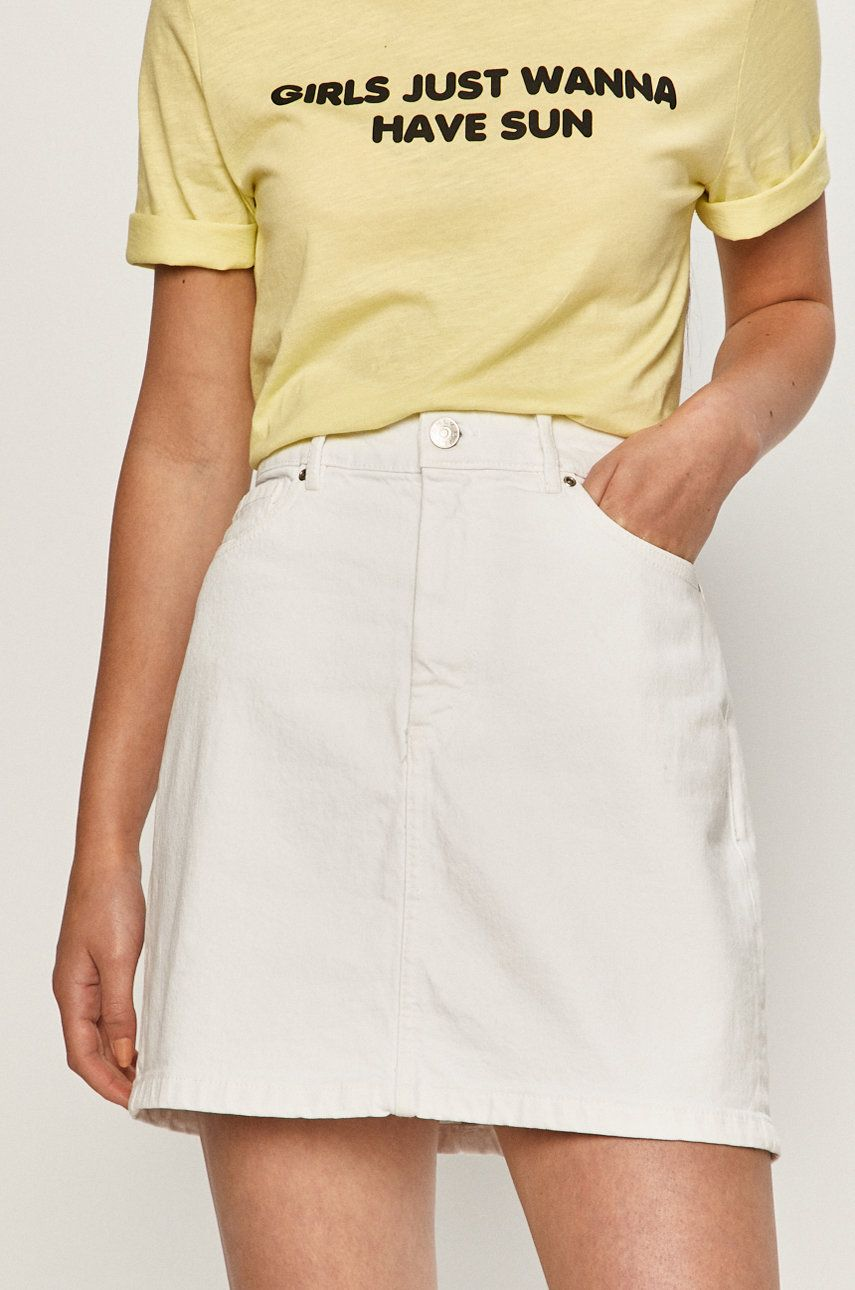 Only - Fusta jeans answear.ro