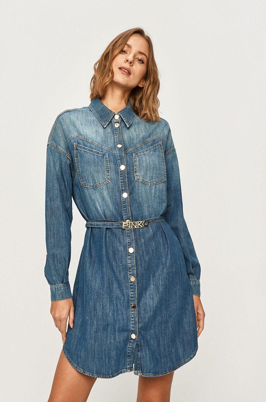 Pinko - Rochie jeans
