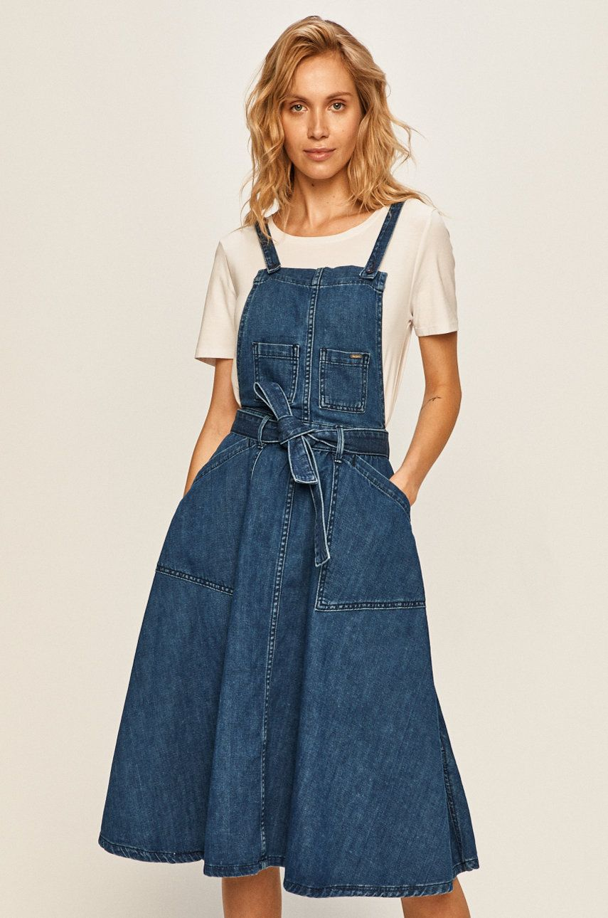 Pepe Jeans - Rochie jeans Lucky