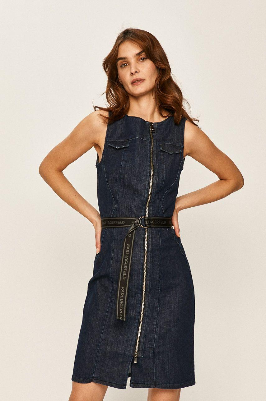 Karl Lagerfeld Denim - Rochie jeans