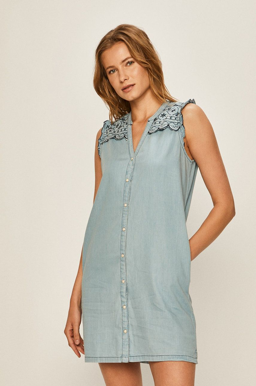 Pepe Jeans - Rochie Jeans Lura