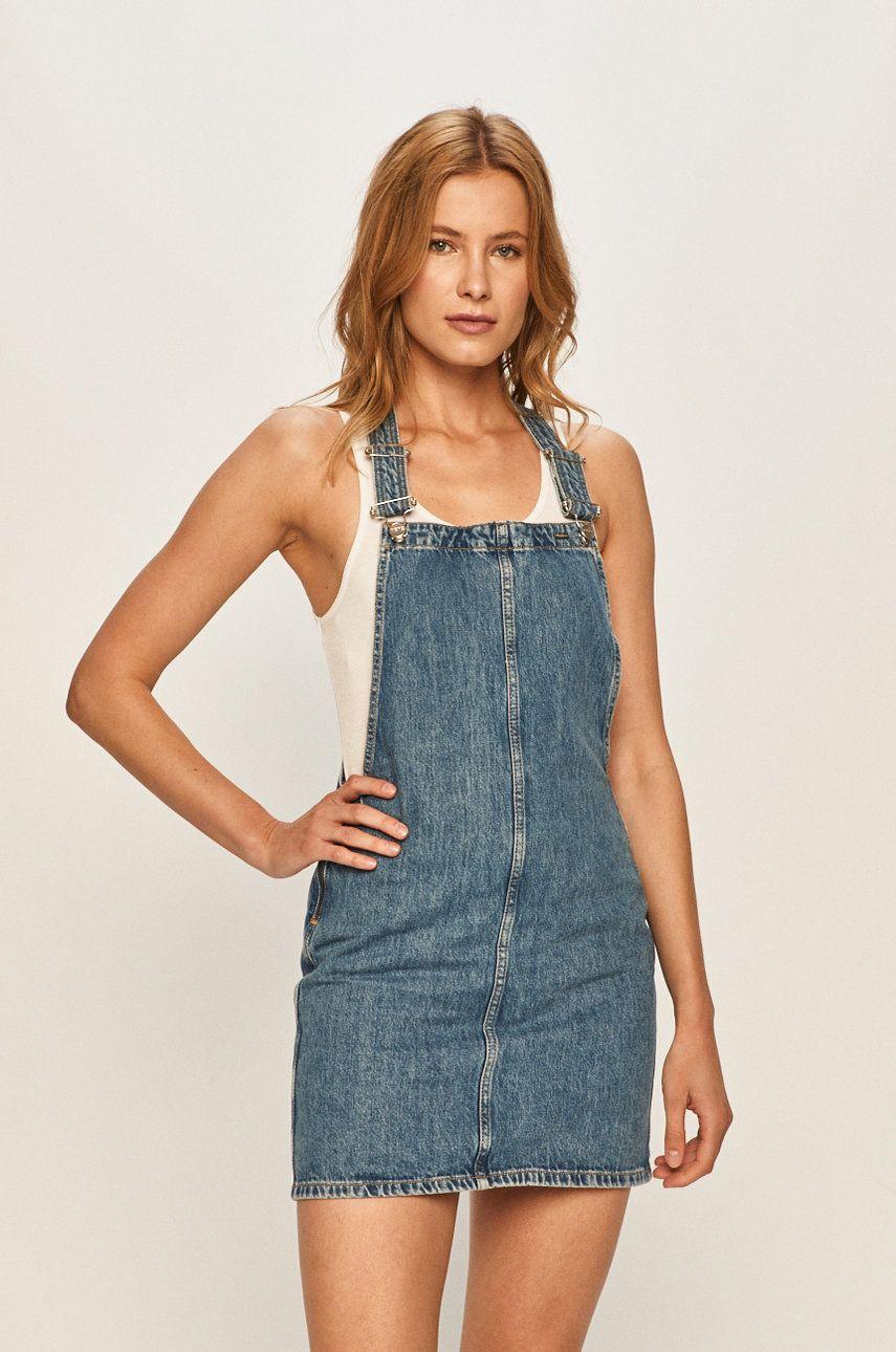 Pepe Jeans - Rochie jeans Vesta