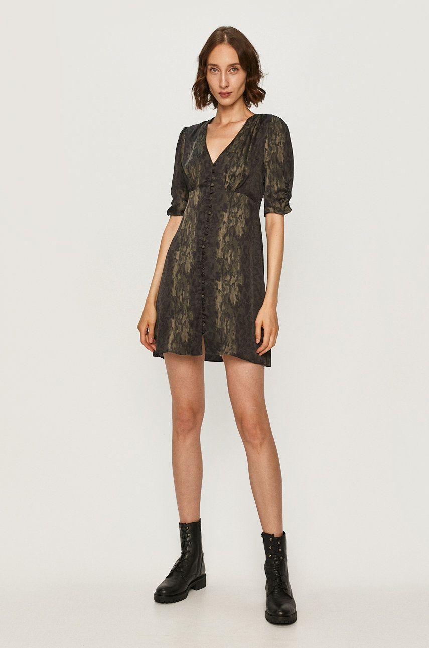 AllSaints - Rochie Kota Masala imagine answear.ro