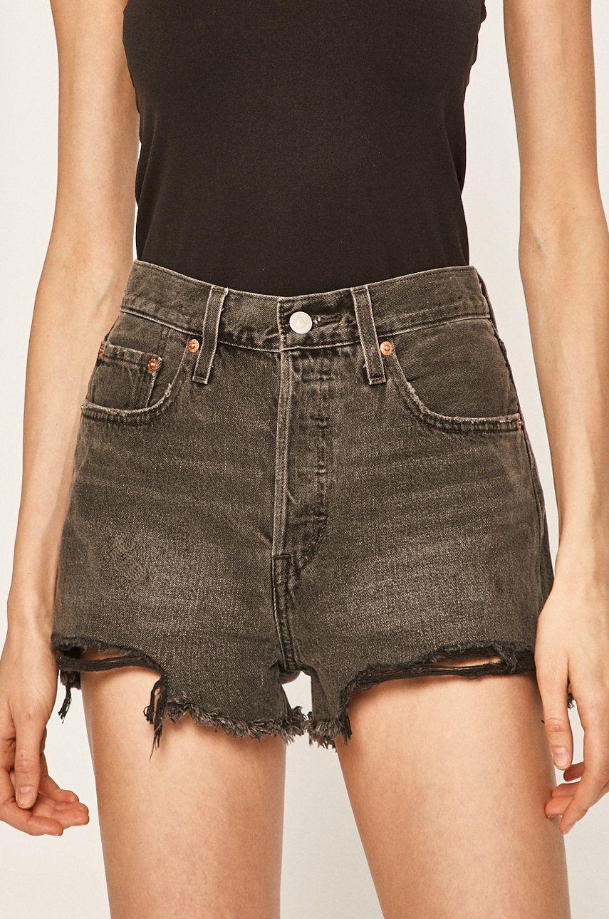 Levi's - Pantaloni scurti jeans poza